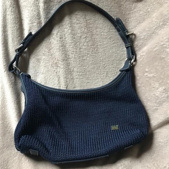 The Sak Bags Navy Crochet Shoulder Or Hobo Bag Poshmark
